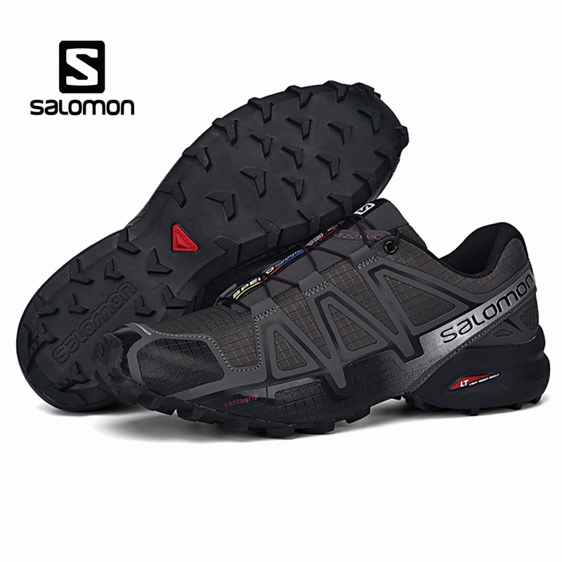 Salomon Speed Cross 4 Men Shoes Outdoor Sport Athletic Zapatillas Hombre Speedcross CS Male Solomon Fencing Running Mujer Shoes