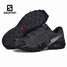 Salomon Speed Cross 4 Men Shoes Outdoor Sport Athletic Zapatillas Hombre Speedcross CS Male Solomon Fencing Running Mujer Shoes salomon speedcross pro running shoes for men sport shoes sneakers male outdoor damping breathable run gym athletic sapato