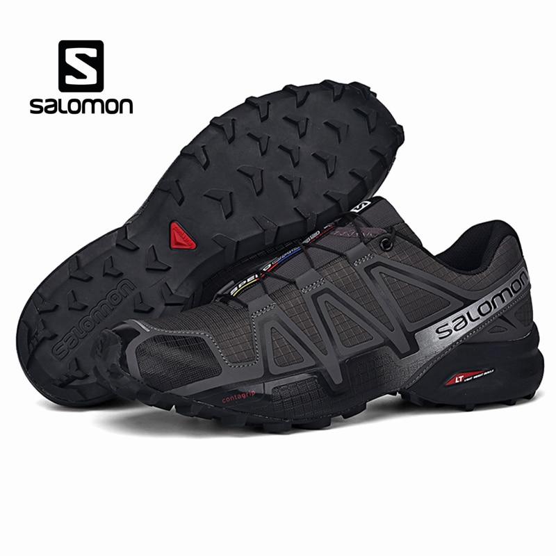 Salomon vitesse Cross 4 hommes chaussures de plein air Sport athlétique Zapatillas Hombre Speedcross CS mâle Salomon escrime course Mujer chaussures