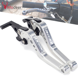 Logo ZX-12R CNC Aluminum Adjustable Racing Clutch Brake Lever Levers For Kawasaki ZX12R ZX 12R 2000-2005 2004 2003 2002 2001