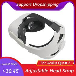 For Oculus Quest 2 Elite Adjustable Head Strap Increase Supporting Improve Comfort-Virtual For Oculus Quest 2 VR Accessories