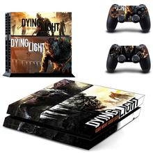 Dying Light Play station 4 Stickers,PS 4 Sticker PS4 Skin Decal Pegatinas Adesivo For PlayStation 4 console and 2 controller