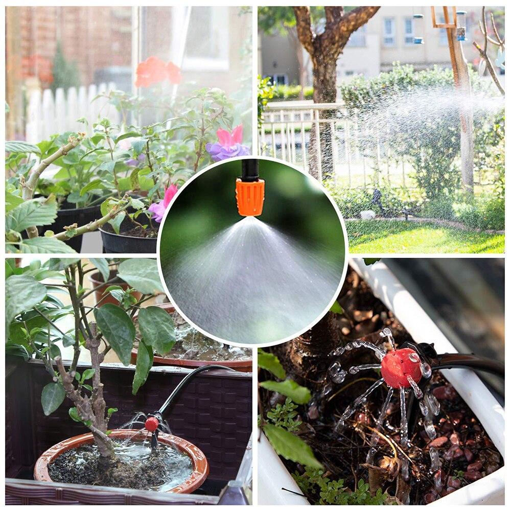 Купить с кэшбэком Automatic Drip Irrigation For Greenhouse Garden Sprinklers Sprayers Garden Water Timers Self Watering Kits