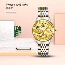 цена на  Mechanical Watch Golden White Tourbillon Gold White Automatic Watch Waterproof Watch Box Packaging