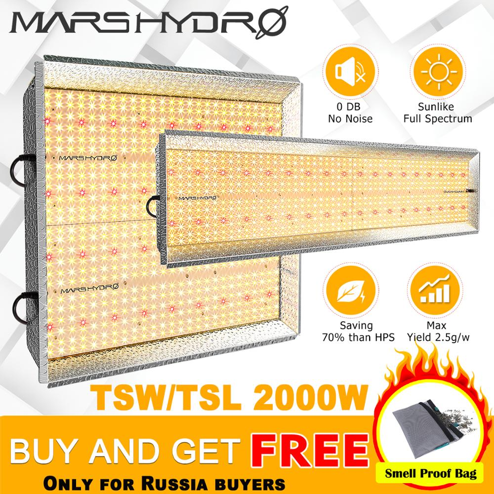 Mars Hydro TS 2000W LED Grow Lights Sunlike Full Spectrum Indoor Hydroponics Kits Veg And Flower