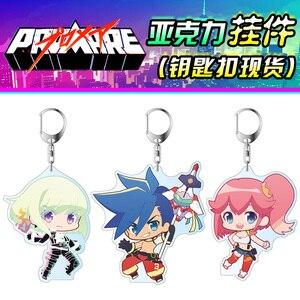 Anime PROMARE Galo Thymos Aina ardébit Lucia Fex Lio Fotia Cosplay acrylique Figure porte-clés pendentif porte-clés décor cadeaux