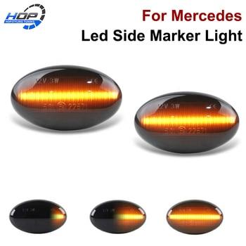 2x Car Styling Led Side Marker Light Turn Signal lamps for Mercedes-Benz Smart W450 W452 A-Class W168 Vito W639 W447 Citan W415