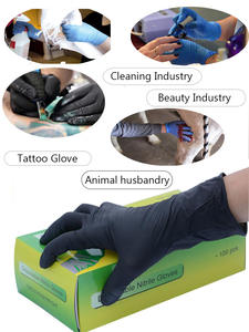 FSUP Nitrile-Gloves Tattoo Disposable Kitchen-Cleaning Garden Household Universal Food