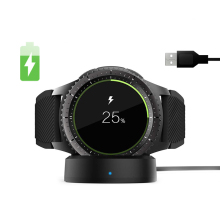 SIKAI беспроводное быстрое зарядное устройство для samsung gear S3 Frontier S2 Спортивная зарядная док-станция для samsung Galaxy Watch 46 мм активная зарядная док-станция