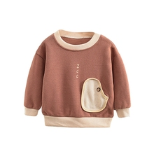 Baby Boy Girl Clothes 0-4T Autumn Kids Toddler Cartoon Print Sweatshirts Casual Blouse Long Sleeve Outerwear #m