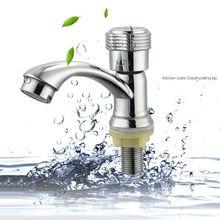 цена на Zinc Alloy Bathroom Faucet Single Handle Basin Faucet Deck Mounted Sink Tap G6KA