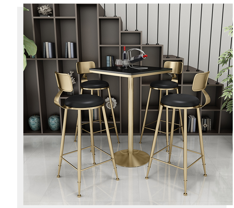 Iron Bar Tables And Chairs Simple Fresh Tea Shop Tables And Chairs Net Red Bar Tables And Chairs Combination High Dining Chair S