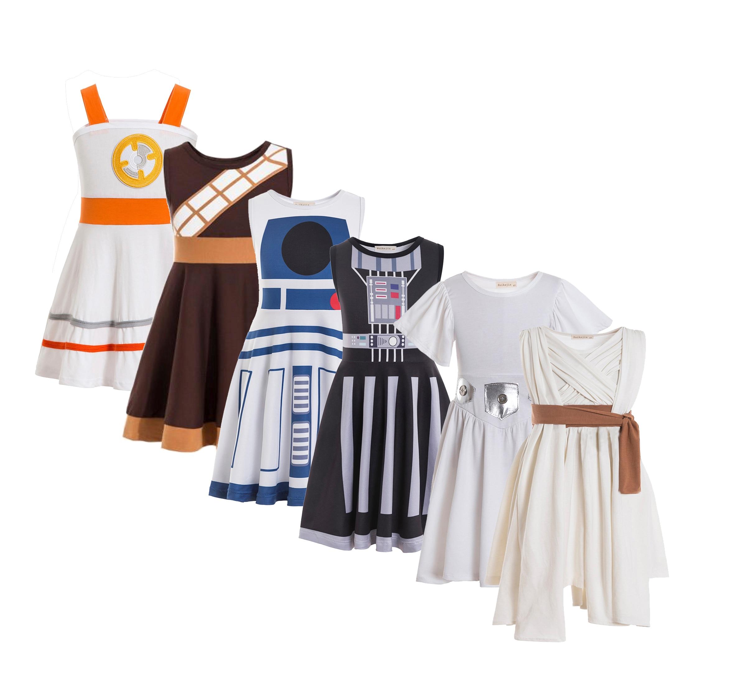 Princess Leia costume, leia outfit,Girls dress,Twirl dress,Halloween Costumes,leia Birthday Outfit,Toddler Dress 3
