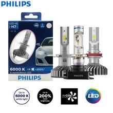 Philips X treme Ultinon LED H4 H7 H8 H11 H16 9005 9006 HB3 HB4 12V 6000K Car LED Head Light Auto Fog Lamps +200% Brighter (Twin)