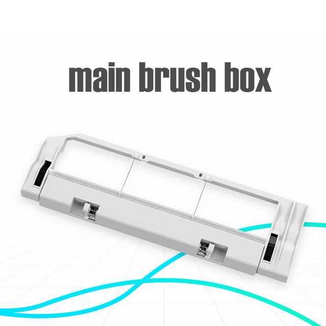 Robot Vacuum Part Pack of HEPA Filter Main Brush Side Brush Suitable for Xiaomi mijia 1/ 1S / roborock Vacuum Cleaner S5 5