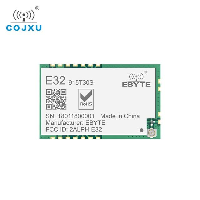 Lora SX1278 TCXO 915MHz 1W SMD ebyte E32 915T30S ไร้สายยาว SX1276 โมดูลสำหรับ IPEX เสาอากาศ