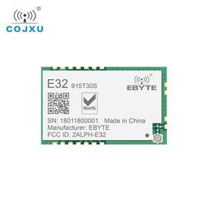 Image 1 - לורה SX1278 TCXO 915MHz 1W SMD ebyte E32 915T30S אלחוטי משדר ארוך טווח SX1276 משדר מודול עבור IPEX אנטנה