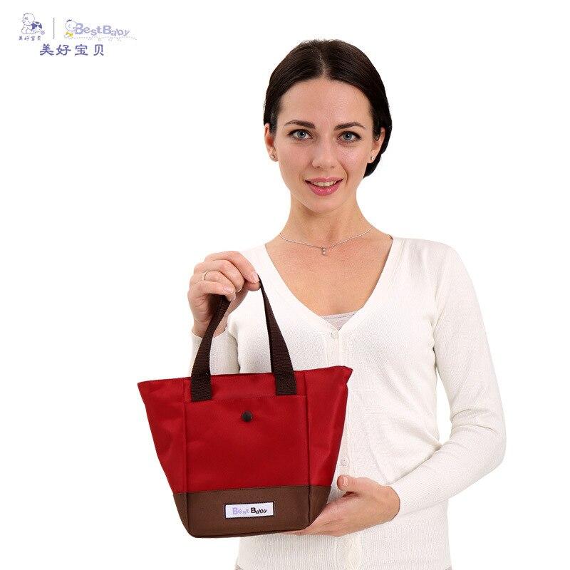 Best Baby Diaper Bag Thermal Bag Aluminum Film Thick Four Seasons Universal