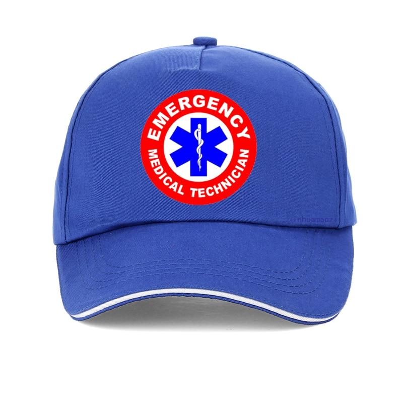 EMS EMERGENCY MEDICAL SERVICES BLUE BALL CAP