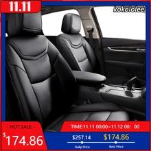 Kokololee Custom Lederen auto bekleding Voor Toyota Corolla PRIUS Prado Land Cruiser RAV4 CROWN Camry Highlander CH R Alphard