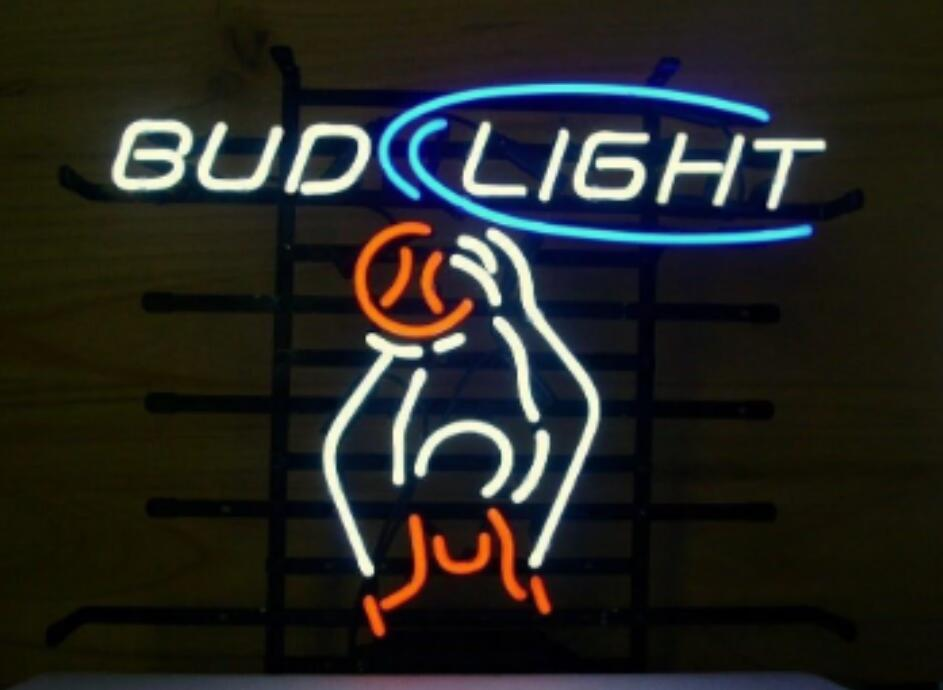 Bud Light Basket Ball Gl Neon
