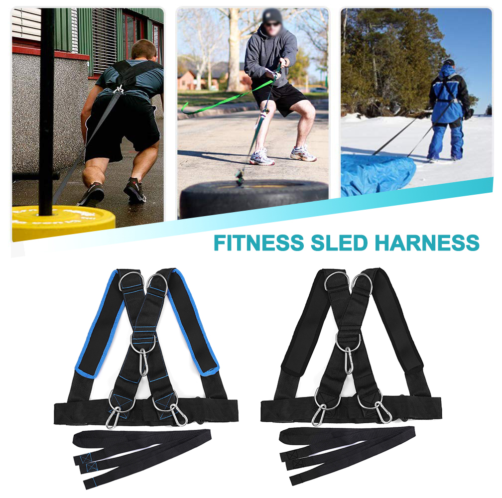 Power Speed Sled Harness Resistance Strength Training Football Made in the USA