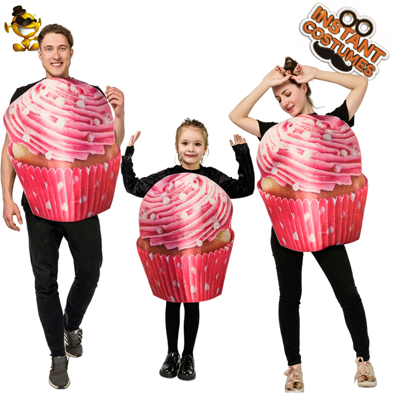 Ice Cream Costume For Women&Men Cosplay Carnival Costume Role Play Child Ice Cream Clothing For Halloween Costume