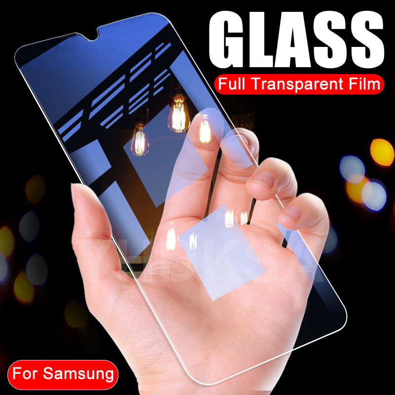 9H Protective Glass On The For Samsung Galaxy A20 A30 A40 A50 A10 A60 A70 A80 A90 Screen Protector Safety Tempered Glass Film
