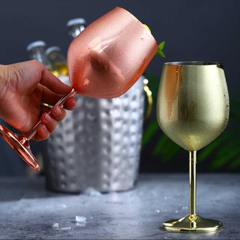 Trinkglas Wein Bier Saft Cocktail Becher Tasse Flasche Crystal Party E3T5
