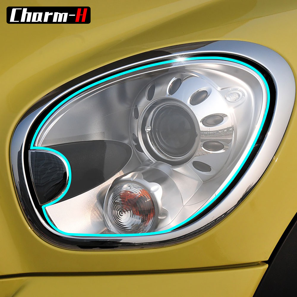 Car Protective Film TPU Headlight Protection Film Sticker for Mini R60 Countryman Cooper One S JCW John Cooper Works Accessories