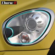 Samochód folia ochronna TPU reflektor folia ochronna naklejki dla Mini R60 Countryman Cooper One S JCW john Cooper works akcesoria