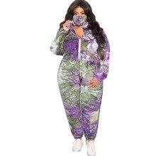 AYES Tie Dye Set Spring Autumn Plus Size 3 Piece Sets Women Coat Pants Warm Ladies Girls Hoodie Sets Tracksuits Top Trouser Sut