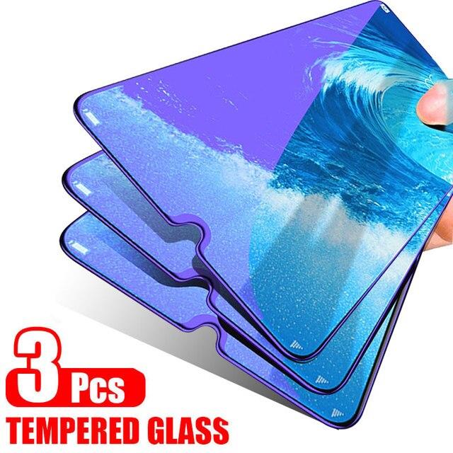 ZNP Protector de pantalla de vidrio templado para Xiaomi, Protector de pantalla de vidrio templado para Xiaomi Redmi Note 7 5 8 Pro 5 Plus, 6A 7A K20 Pro