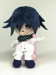 Image 3 - Anime Plush Doll Keyring Danganronpa V3 Dangan Ronpa Oma Kokichi Komaeda Nagito Cosplay DIY Handmade Material Plush Keychain Toy