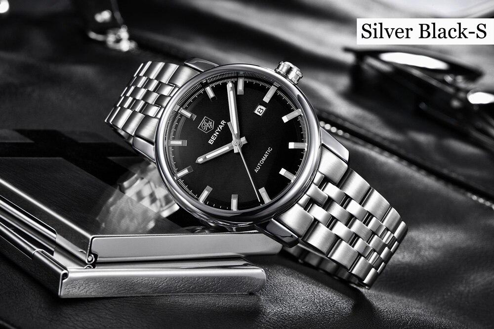 Benyar Design BY-5144 v2 Silver Black