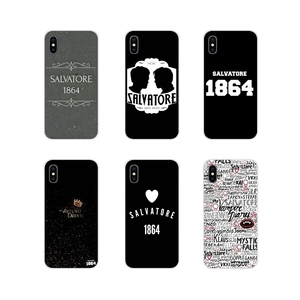 Pamiętniki wampirów salvatore 1864 dla Apple iPhone X XR XS 11Pro MAX 4S 5S 5C SE 6S 7 8 Plus ipod touch 5 6 torba na telefon komórkowy