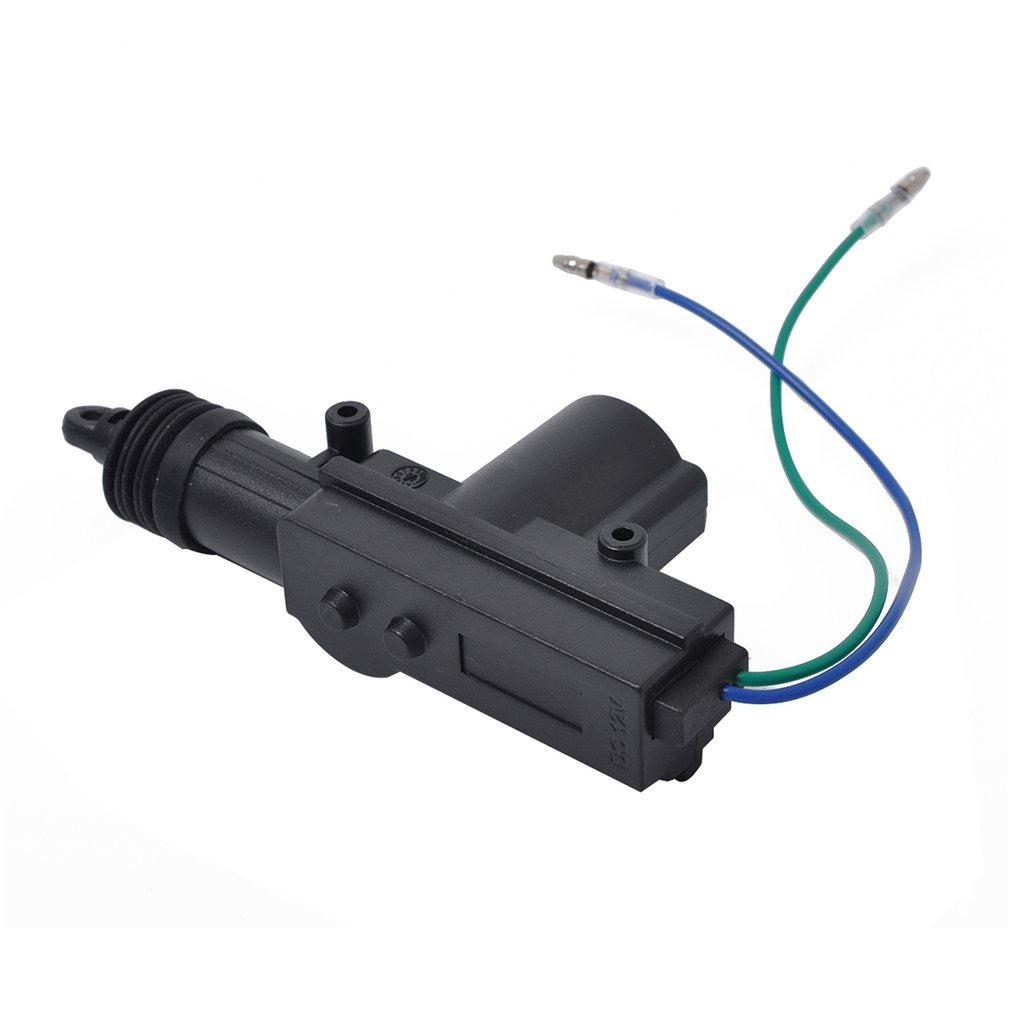12V 4Pcs Auto Door Lock Actuator Kit 2 Wires & 5 Wires Auto Locking System Motor Car Remote Control Central Locking Set