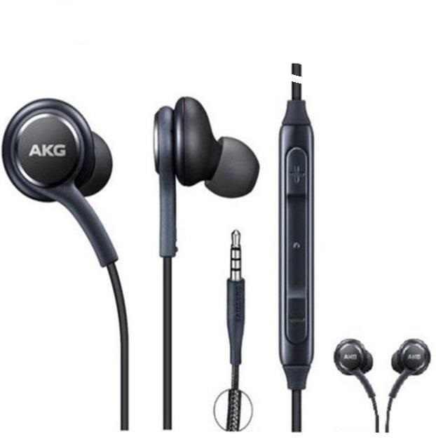3.5 Mm + + Quaity Di Telinga Headphone AK G Samsung S8 Earphone Headset untuk Galaxy S8 Earphone dengan mic Earphone