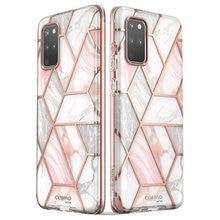 I BLASON Cosmo Voor Samsung Galaxy S20 Plus 5G Case Full Body Glitter Marmer Bumper Cover Case Zonder Gebouwd In Screen Protector