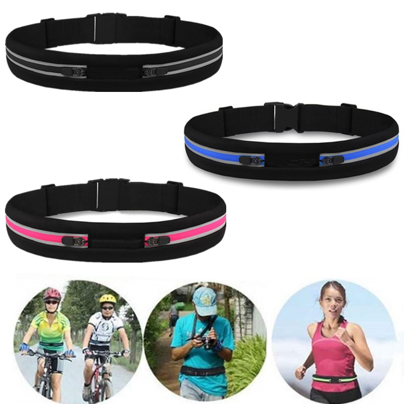 Newest Ultralight Sports Bag Waterproof Outdoor Running Waist Bag Pocket Phone Holder Pack Cycling Bum Bag Jogging Belt Fitness