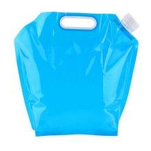 Товары для спорта на открытом воздухе Складная портативная сумка для воды 5L 10L спортивная сумка для хранения воды на открытом воздухе ведро для пикника