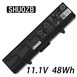 6cells 48Wh 11.1V Laptop Battery For Dell Insprion 1525 1526 1545 1546 1750 GW252 GW240 GP952 PP42L PP29L PP41L K450N SHUOZB