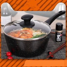 Japanese Household Maifan Stone Small Milk Pot Non-stick Hot Does Mini Soup Induction Cooker Universal