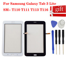 Touch Screen Voor Samsung Galaxy Tab 3 Lite Sm-T110 T111 T113 T116 Touch Screen Digitizer Sensor Glas(China)