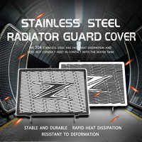 For Z750 Z800 ZR800 Z1000 Z1000SX NINJA1000 Motorcycle Radiator Grille Cover Guard Stainless Steel Protection Protetor
