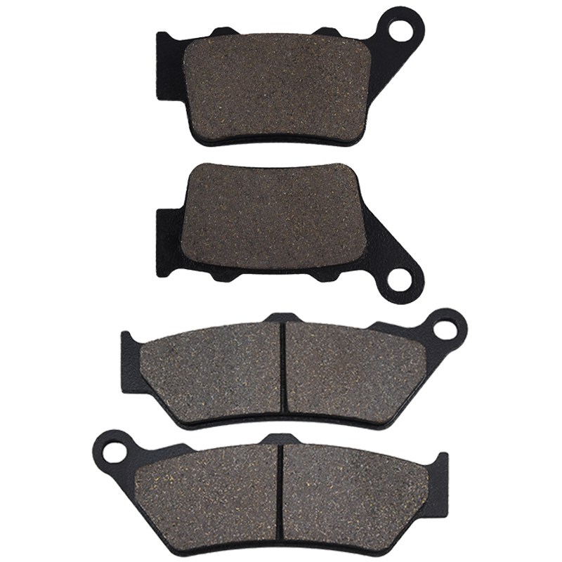 Motorcycle Front and Rear Brake Pads For BMW C1 125 C1 200 1999-2003 G 650 G650 Xcountry GS 07-16 F 650 F650 ST Scarver 93-12(China)