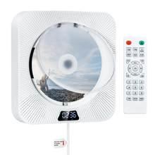 Настенный CD-плеер с Bluetooth, 2 встроенных динамика Hi-Fi, ЖК-дисплей