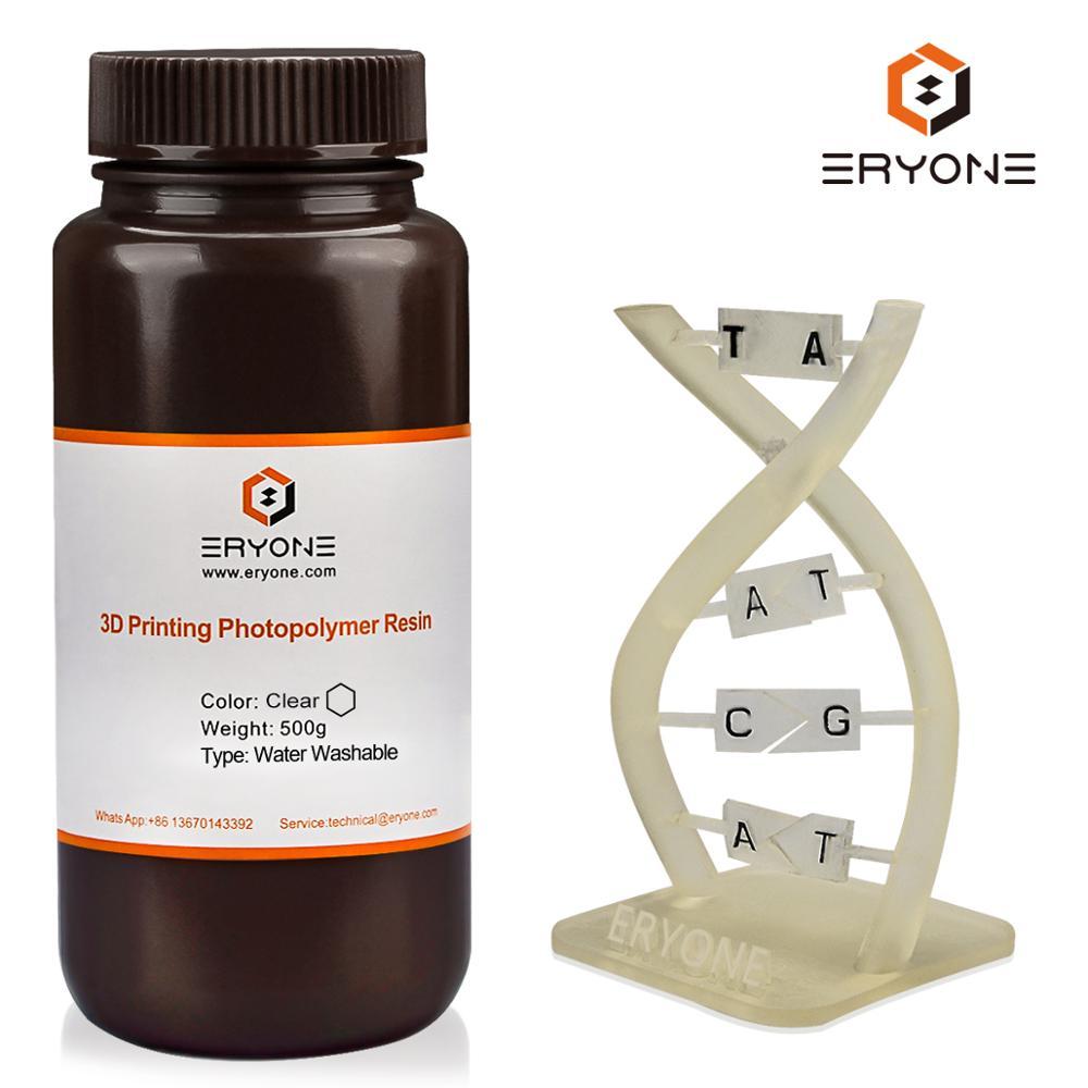 Моющаяся в воде УФ-смола эриона нм для отверждения фотополимера, смола для 3D-принтера DLP/ЖК-принтера