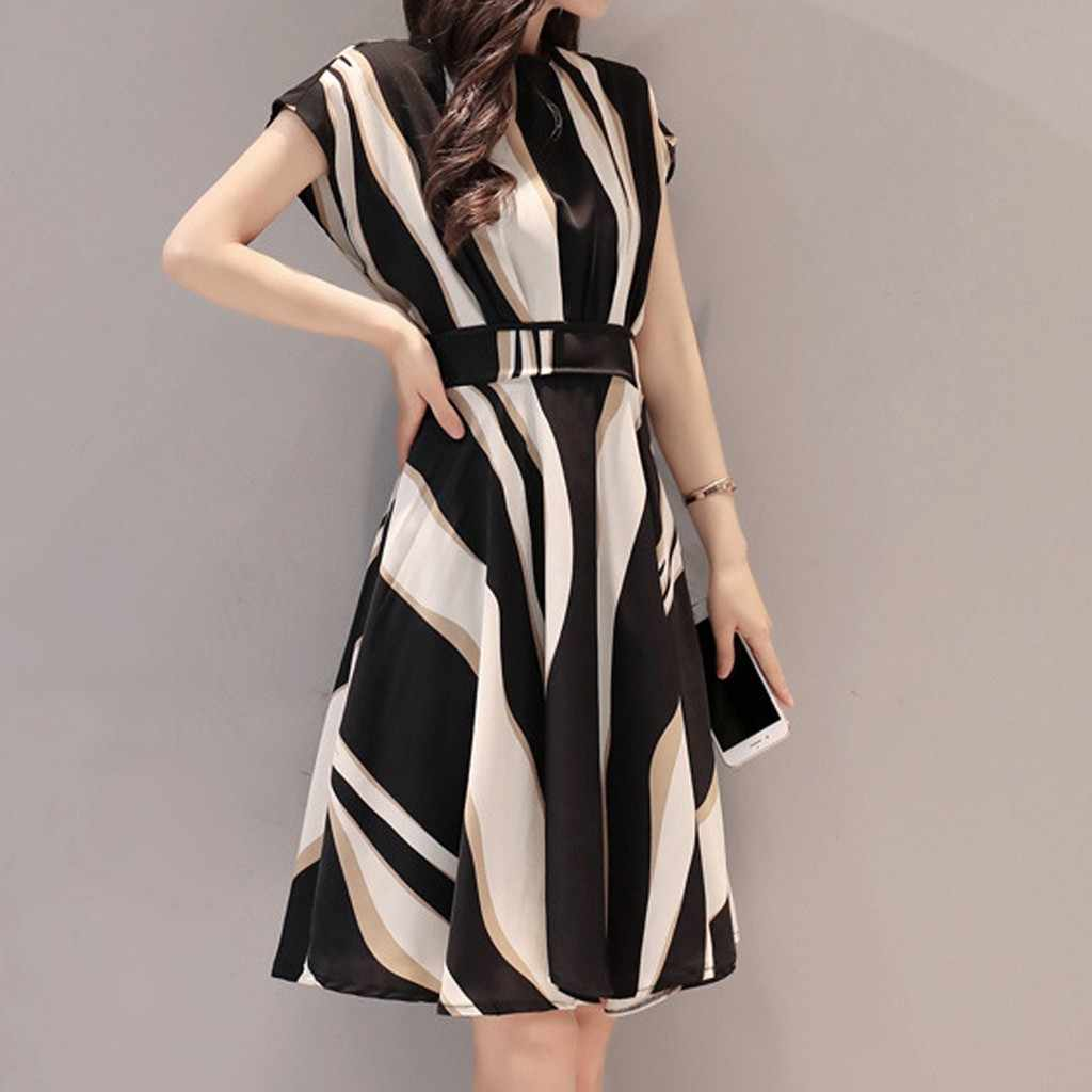 プラスサイズ 3xl サマードレス 2019 レディースヴィンテージ半袖ドレス女性パーティーナイト花柄ドレス女性パーティードレス # P30