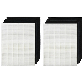 1 True Hepa Filter + 4 Carbon Replacement Filters A 115115 Size 21 For Winix Plasmawave Air Purifier 5300 6300 5300-2 6300-2 P30
